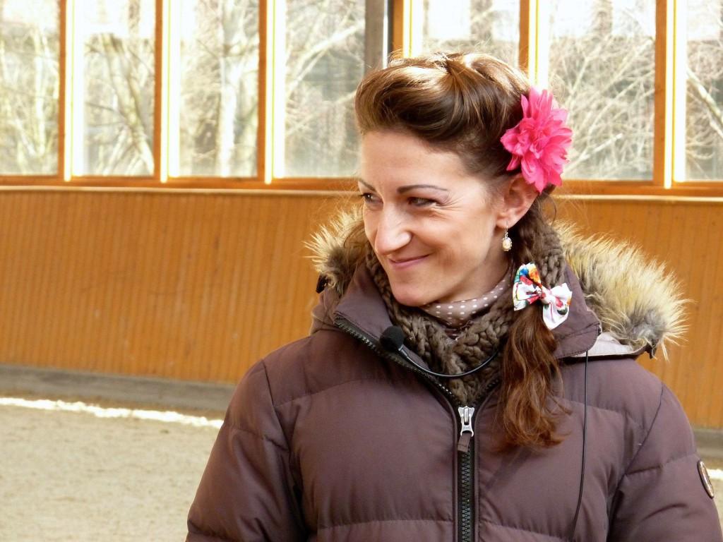 Alizée Froment, Französin mit Mission.