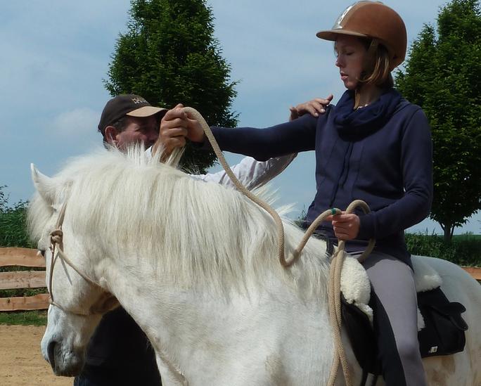 Humanship statt Horsemanship - das ist der Ansatz von Ian Benson