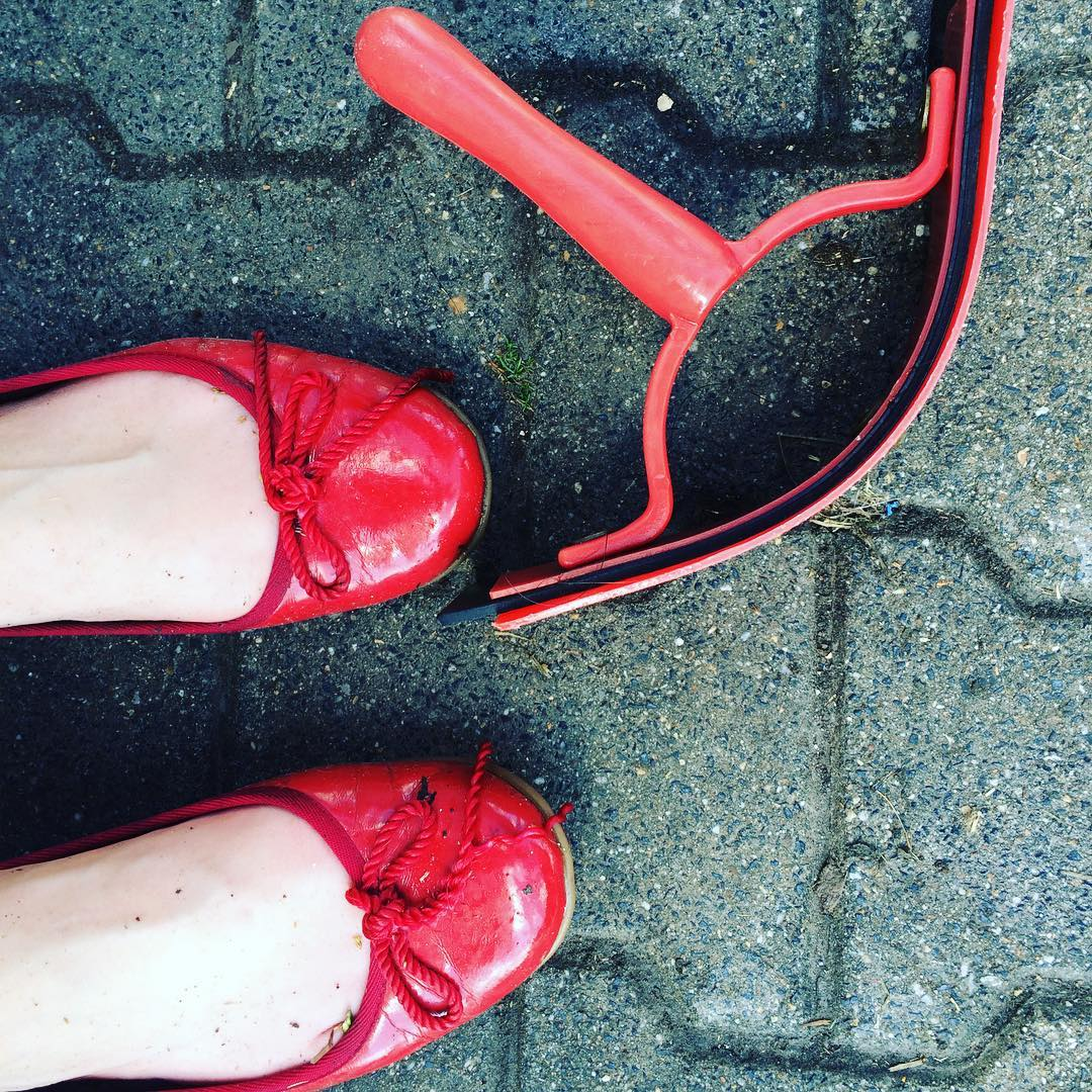 How to kill your favourite shoes in 10 minutes #fightingtheheat #equestrian #33degrees
