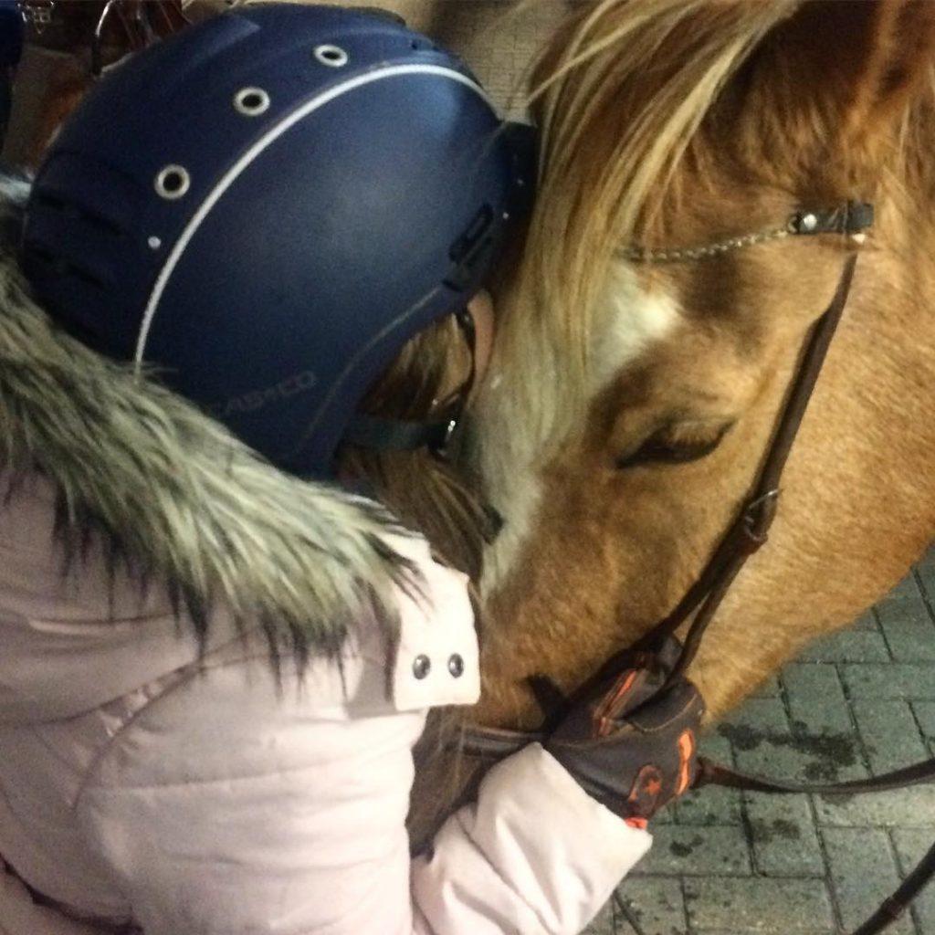Diese Zwei  finally zweiteliebe ponyliebe bestesponychamonix deutschesreitpony equestrian palominohellip